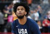 JAV rinktinę paliko dar vienas krepšininkas