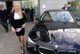 Londono medalininkams įteikti BMW automobiliai