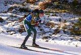 N.Kočergina sužibėjo Europos biatlono čempionate, auksas vėl iškeliavo į Latviją