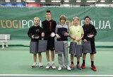 """""""Logipolija taurė 2015"""" – didžiausias vaikų žiemos teniso turnyras Lietuvoje"""
