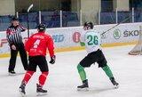 """Po teisėjų komiteto priimto sprendimo dėl """"Kaunas Hockey"""" gynėjo smūgio lazda į galvą – """"Energijos"""" svarstymas pasitraukti iš čempionato"""
