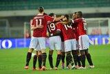 """""""Milan"""" išvykoje įveikė """"Chievo"""" futbolininkus"""