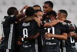 """Dublį prieš """"Lyon"""" pelnęs C.Ronaldo neišgelbėjo: """"Juventus"""" baigė pasirodymą Čempionų lygoje"""
