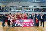 "NKL čempionato finale triumfavo ""Sūduva-Mantinga"""