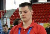 Šachmatų olimpiadoje Lietuvos vyrų rinktinė įveikė varžovus iš egzotiškos šalies, moterys patyrė nesėkmę