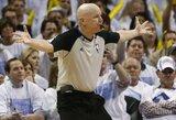 Skandalingasis NBA arbitras prisiminė teisėjų klaidą, kuri galėjo sudrebinti visą lygą