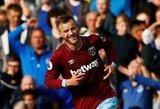 """A.Jarmolenko vedami """"West Ham United"""" nutraukė keturių pralaimėjimų iš eilės seriją"""