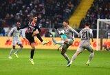 """""""Eintracht"""" vėl prarado taškus Vokietijoje"""