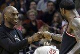 """K.Bryantas prašo NBA pakeisti jį """"Visų žvaigždžių"""" rungtynių startiniame penketuke"""