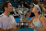R.Federeris po 17 metų pertraukos atvedė Šveicarijos rinktinę į pergalę Hopmano taurės finale