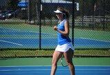 Didžiausia karjeros pergalė: J.Mikulskytė laimėjo ITF moterų teniso turnyro finalą