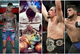 """""""UFC 234"""" pristatymas ir prognozės: J.Stoliarenko trenerio bandymas apginti čempiono diržą ir pirmas legendos pasirodymas po dopingo skandalo"""
