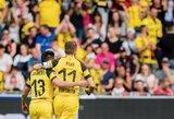 """Triuškinamą pergalę iškovojęs """"Borussia"""" klubas tęsia lenktynes dėl """"Bundesliga"""" čempiono titulo"""