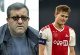 PSG tikisi šią savaitę užbaigti derybas su M.De Ligtu