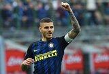"""""""Inter"""" nori pasirašyti naują sutartį su M.Icardi ir išbraukti išpirkos sumą"""