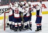 """""""Capitals"""", """"Stars"""" ir """"Islanders"""" tęsia kovą dėl Stenlio taurės"""