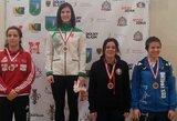 Imtynių turnyre Lenkijoje D.Domikaitytė varžoves guldė ant menčių