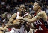 Naudingiausi NBA savaitės krepšininkai - K.Durantas ir J.Johnsonas
