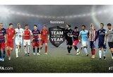 UEFA paskelbė kandidatus, iš kurių galite sudaryti metų komandą