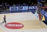 """Drama Valensijoje: """"Maccabi"""" iššvaistė 6 taškų pranašumą ir paskutinėje atakoje praradusi kamuolį padovanojo """"Valencia"""" ekipai pergalę"""