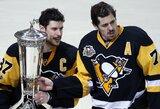 Stenlio taurės finalas: S.Crosby ir J.Malkinas kuria istoriją