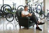 Penki olimpinio čempiono patarimai miesto dviratininkams