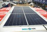 A.Juknevičius serviso darbams Dakare pasitelks saulės energiją