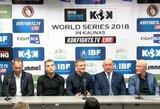 Bušido ir profesionalaus bokso federacijos vienijasi: pristatytas pirmą kartą Lietuvoje vyksiantis turnyras su I.Barysu ir E.Petrausku