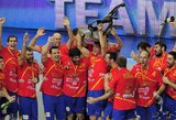 Aikštėje dominavę ispanai antrą kartą tapo pasaulio rankinio čempionais
