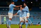 """Čempionų lyga: pirmąjį rungtynių įvartį praleidęs """"Man City"""" iškovojo pergalę"""