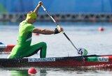 Pasaulio baidarių ir kanojų irklavimo čempionate lietuviai lieka be medalių
