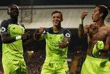 """""""Liverpool"""" kapitonas gyrė klubo puolimo trio: """"Jie būna nesulaikomi"""""""