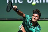 R.Federeris toliau sėkmingai žygiuoja link turnyro Indian Velse titulo