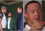 A.Jemeljanenkos ir M.Kokliajevo akistata baigėsi pralietu galiūno krauju, C.Nurmagomedovas įvardijo kovos favoritą