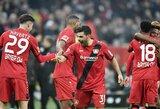 """Vokietijos """"Bundesliga"""": katastrofiškas """"RB Leipzig"""" žaidimas gynyboje baigėsi fiasko"""