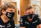 E.Juškauskas ir A.Paliukėnas į Dakarą atvyko užbaigti pradėto darbo