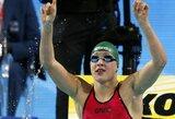 Pasitraukus M.Phelpsui, pasaulio vandens sporto šakų čempionate dėmesys bus atkreiptas į R.Meilutytę