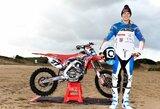 A.Jasikonis Italijoje vykusiame pasaulio motokroso čempionato etape pasirodė vidutiniškai