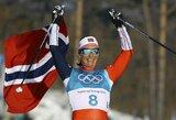 Norvegija po 16 metų pertraukos laimėjo žiemos olimpiados medalių įskaitą