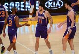 "Įsibėgėjanti ""Suns"" patiesė NBA čempionus"
