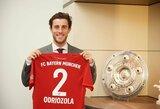 """Oficialu: """"Bayern"""" pasiskolino """"Real"""" gynėją"""