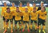 Lietuvos U-18 rinktinė nusileido Rusijos bendraamžiams