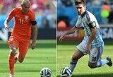 Paaiškėjo 10 kandidatų kovojančių dėl geriausio futbolininko, žaidžiančio Europoje, vardo