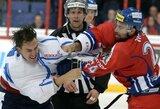 Suomiai tapo vienvaldžiais Euroturo ledo ritulio turnyro lyderiais