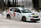 """Treniruotei į Suomiją išvykęs """"Samsonas Motorsport"""" ekipažas grįžo su taure rankose"""