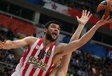 """""""Olympiacos"""" ilgam išsaugojo K.Papanikolaou"""
