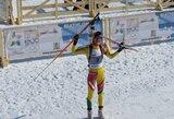 Sprinto rungtyje G.Leščinskaitė užėmė 29 vietą, K.Vitkūnaitė liko 55-a