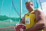 """Kas antrą dieną rekordą gerinantis pasaulio čempionas A.Gudžius santūrus: """"Antros vietos – neguodžia"""""""