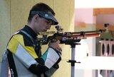 Lietuviai baigė savo pasirodymus Europos šaudymo čempionate