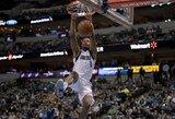 NBA dienos epizodo laurus susižėrė dėjimas apsisukus 360 laipsnių